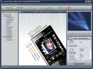 Clone2Go DVD to Mobile Phone Converter Screenshot