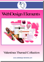 Valentines Web Elements Screenshot