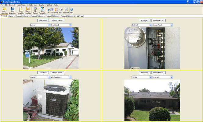 Home Inspector Pro Inspection Software Screenshot