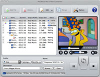 AVCWare Mac Video Converter Screenshot