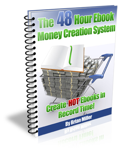 48 Hour Ebook Money Creation System Screenshot 1