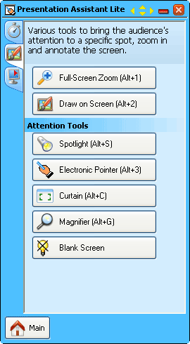 Presentation Assistant Lite Screenshot