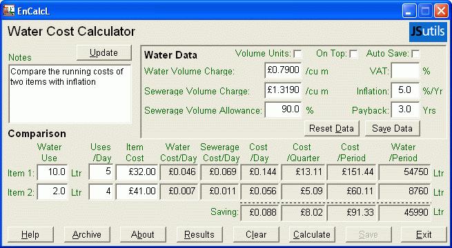 EnCalcL Screenshot