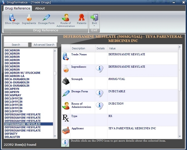 DrugFormatica Screenshot