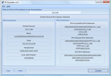IP Converter Screenshot 1