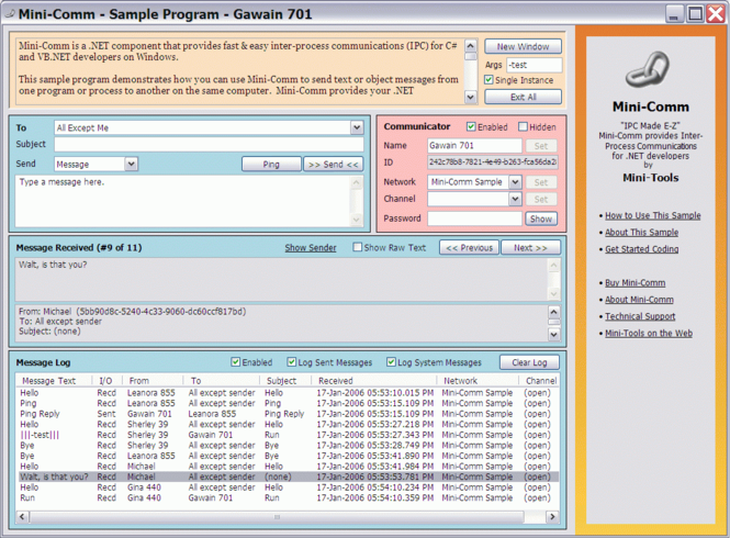 Mini-Toolbox Screenshot