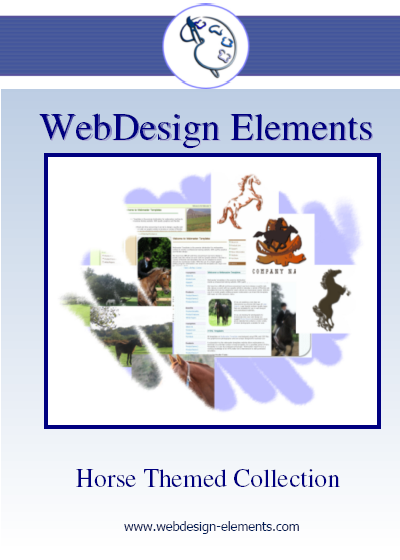 Horse and Equestrian Web Elements Screenshot 1