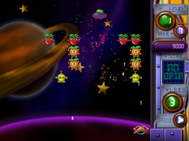 Attack of Mutant Fruits from Outer Space Screenshot 1