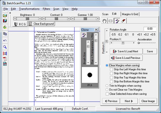 BatchScanPlus Screenshot
