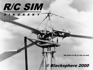 R/C Sim Sikorsky Screenshot