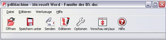 pdfMachine 5 User Paket Screenshot