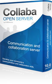 Collaba Open Server User License 1-Year Screenshot
