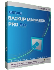 Genie Backup Manager Professional v8.0 Screenshot 1