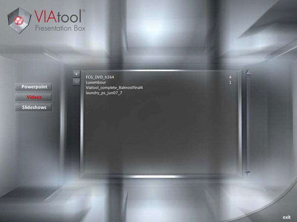 VIAtool Cuckoo Screenshot