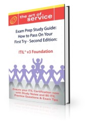 ITIL V3 Foundation Certification Exam Preparation Course in a Book for Passing the ITIL V3 Foundation Screenshot
