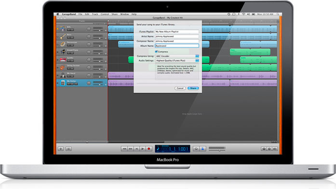 Download GarageBand 6 0 5 for Mac Free