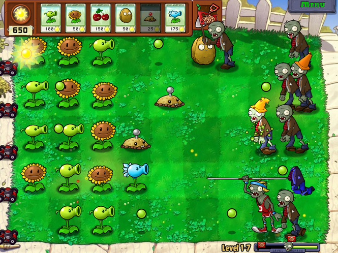 Plants vs. Zombies Screenshot