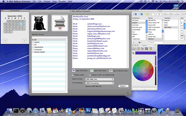 E-Mail Address Extractor Screenshot 1