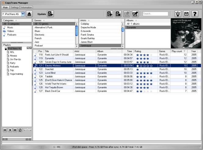 CopyTrans Manager Screenshot 3
