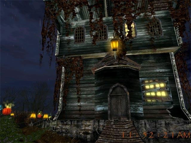 3D Halloween Holiday Screensaver Screenshot 1