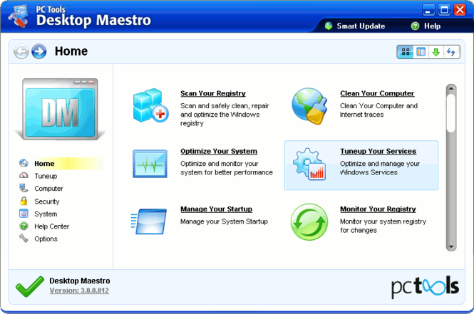 Desktop Maestro Screenshot