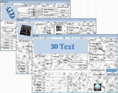 AMC 3D Effects 1 Plugin Screenshot