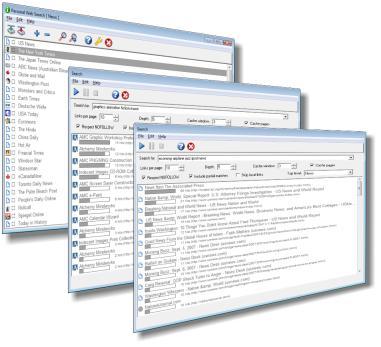 AMC Personal Web Search Screenshot