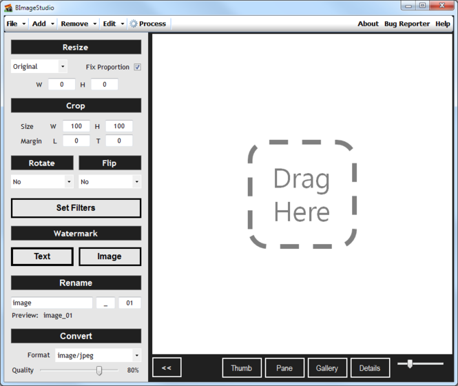 BImageStudio Screenshot