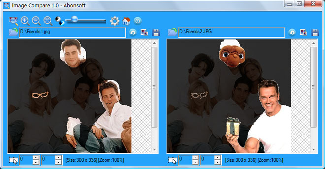 Abonsoft Image Compare Screenshot