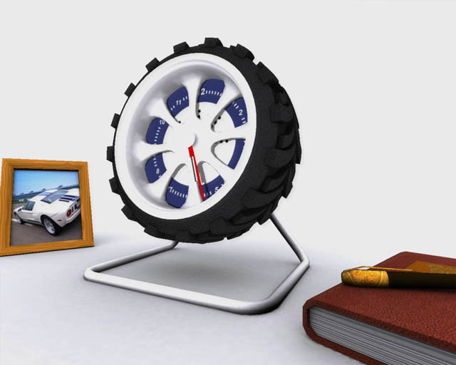 Office Clock 3D Screensaver Screenshot