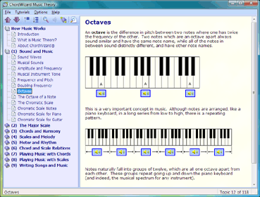 Music Theory Screenshot