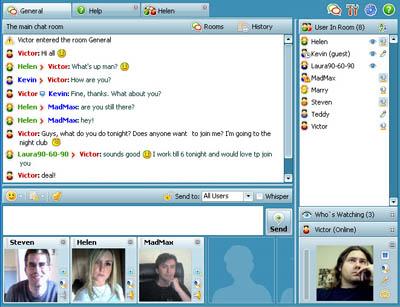 Community Video Chat Screenshot 1