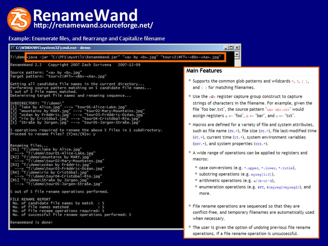 RenameWand Screenshot 1