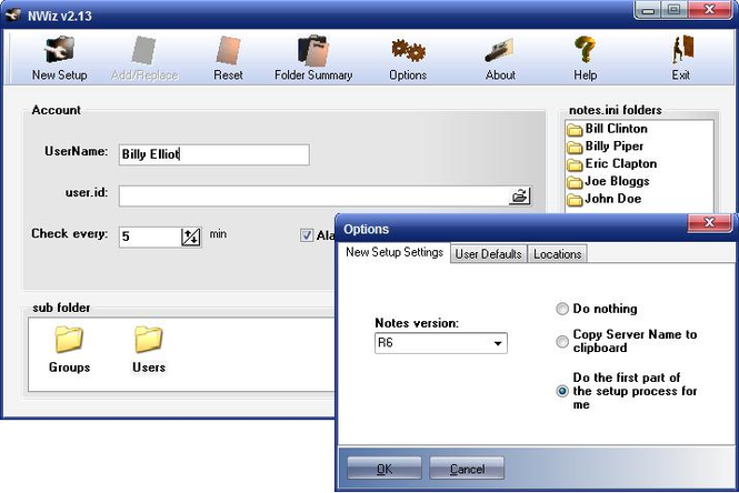 NWiz Screenshot