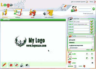 Logo Ease Screenshot