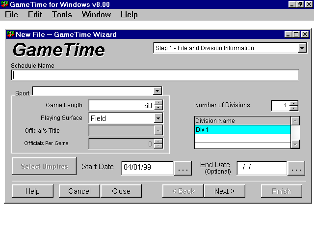 Game Time Screenshot
