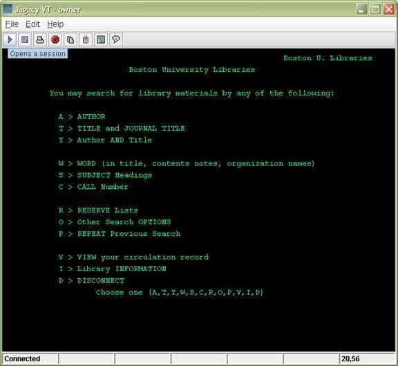 Jagacy VT Terminal Emulator Screenshot 1