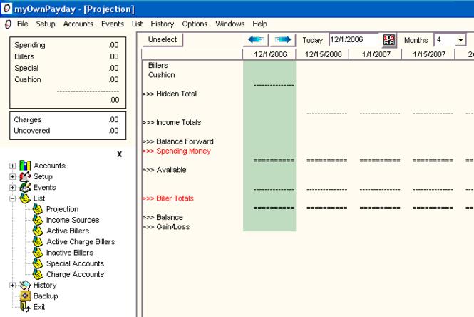 myOwnPayday Screenshot 1