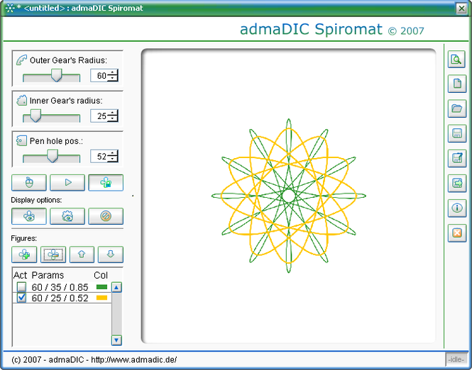 admaDIC Spiromat Screenshot