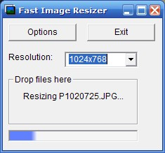Fast Image Resizer Screenshot 1