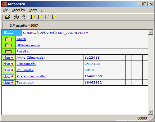 ArchiVista Screenshot