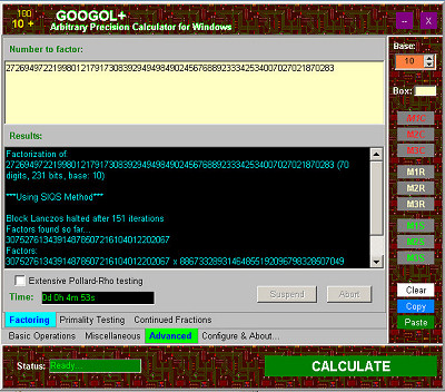Googol+ Screenshot