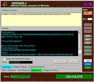 Googol+ Screenshot 1