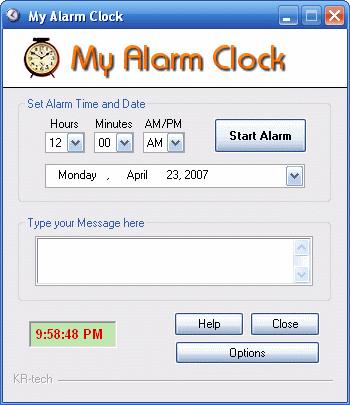 My Alarm Clock Screenshot 1