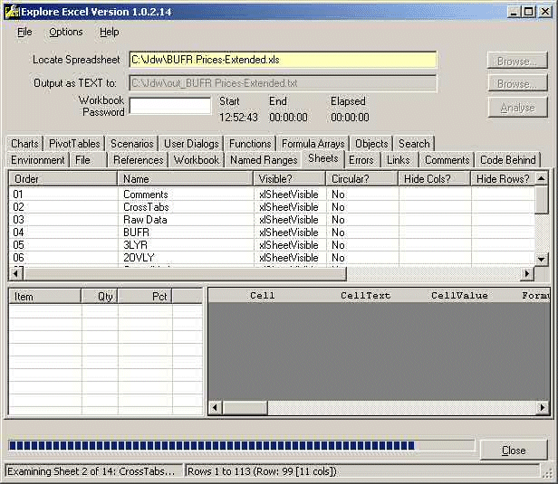 ExploreExcel Screenshot