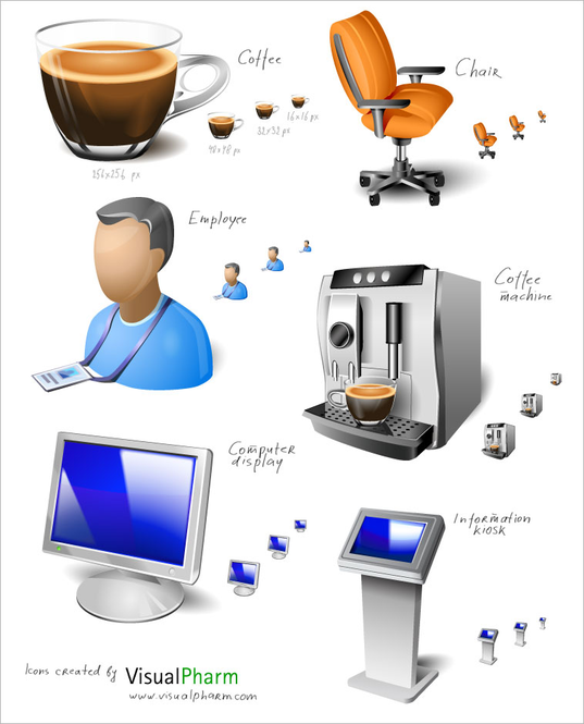 Free Vista Icon Set Screenshot 1