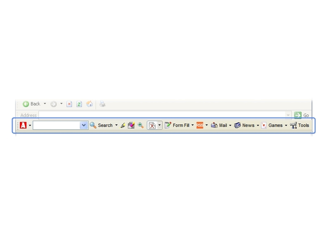 Advanced Searchbar Screenshot 1