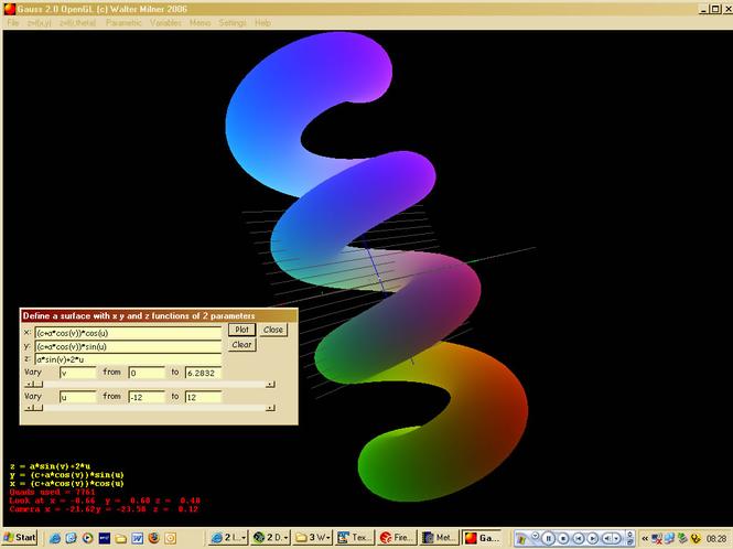 Gauss Screenshot
