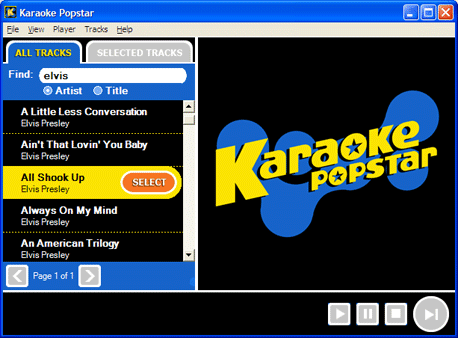 Karaoke Popstar Screenshot 1
