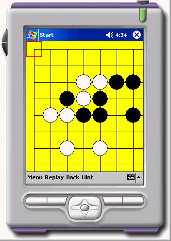 Gogame Skill of Endgame for PocketPC2002 Screenshot 2